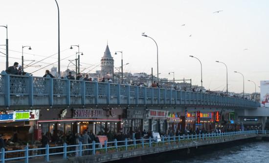 Istanbul il ponte Galata