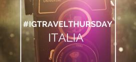 Riparte #IGTravelThursday Italia, con una novità